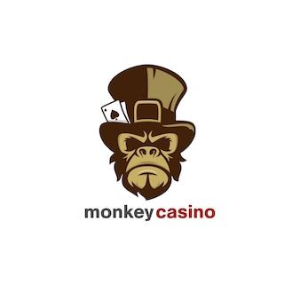 Logo casino scimmia