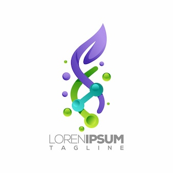 Logo cbd o modello logotipo