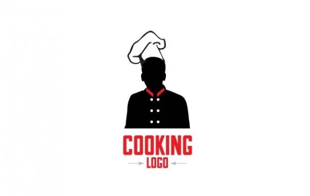 Logo chef di cucina