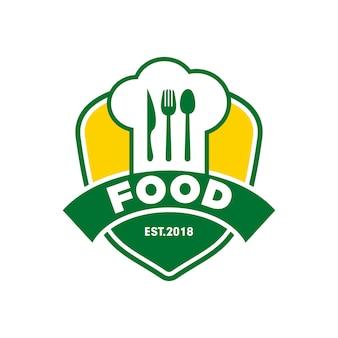 Logo chef food restaurant