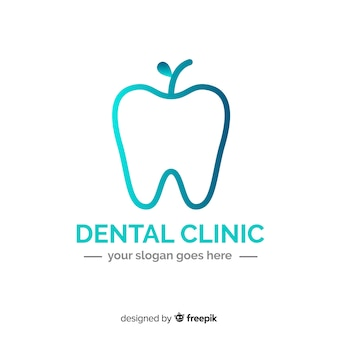 Logo clinica dentale gradiente