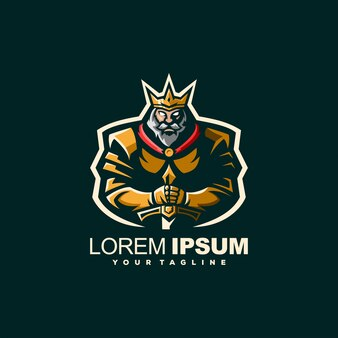 Logo con logo spada corazzata