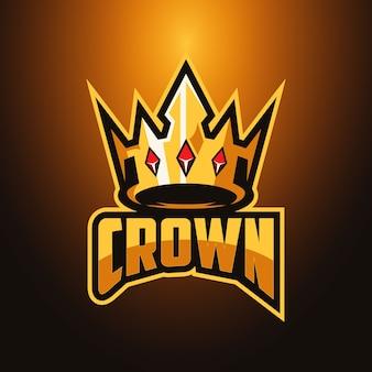 Logo crown esports