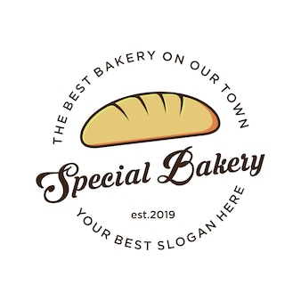 Logo da forno con logo vintage,