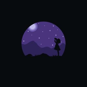 Logo da sogno per bambini piccoli