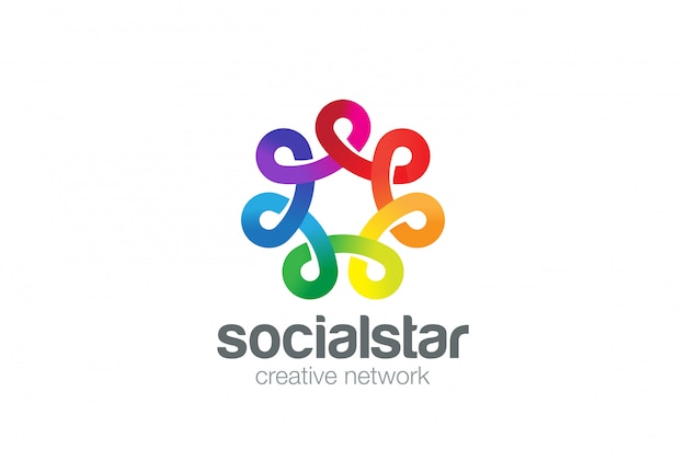 Logo dei social network