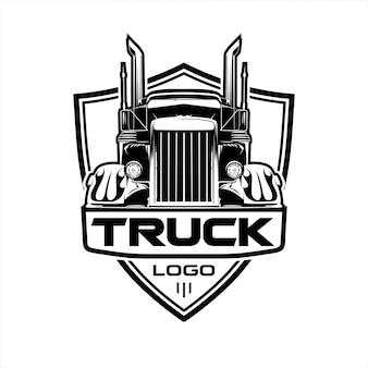 Logo del camion di trasporto