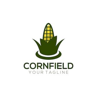 Logo del campo di mais