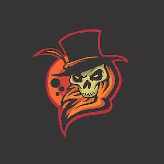 Logo del cappello malvagio