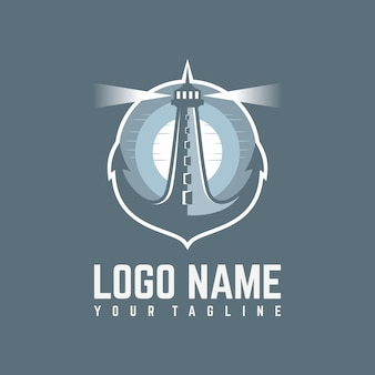 Logo del faro di ancoraggio