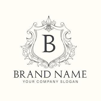 Logo del marchio dell'emblema reale
