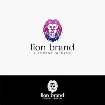 Logo del marchio di leone