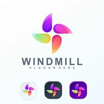 Logo del mulino a vento r