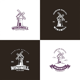 Logo del mulino a vento