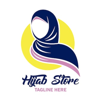 Logo del negozio hijab