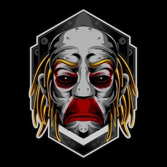 Logo del pagliaccio triste