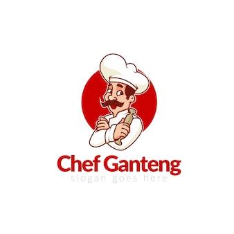 Logo del ristorante di avviamento