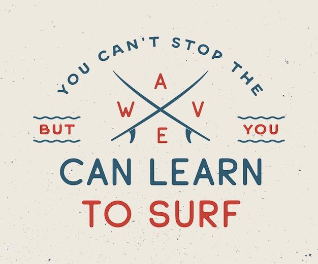 Logo del surf