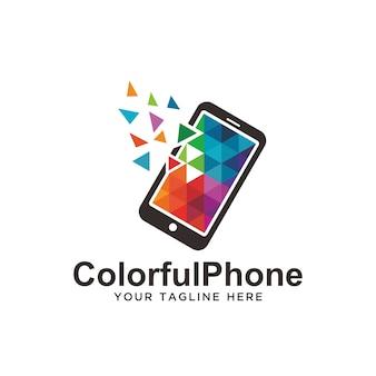 Logo del telefono colorato.