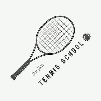 Logo del tennis