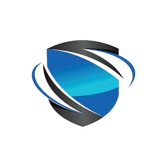 Logo del trading di scambio sicuro