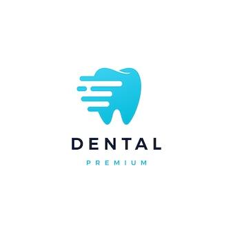 Logo del trattino dentale