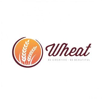 Logo dell'agricoltura del grano