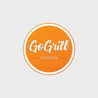 Logo dell'alimento della griglia