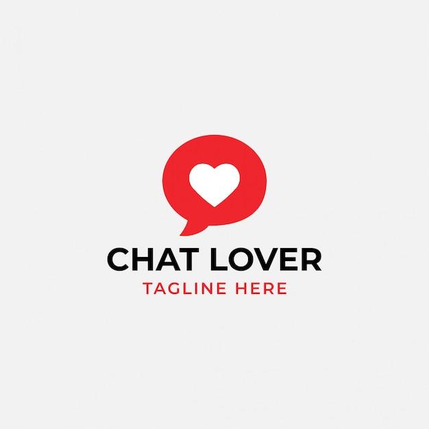 Logo dell'amante della chat