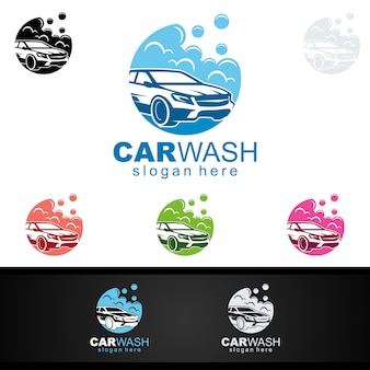 Logo dell'autolavaggio