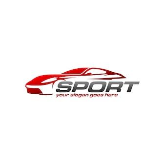 Logo dell'automobile sportiva