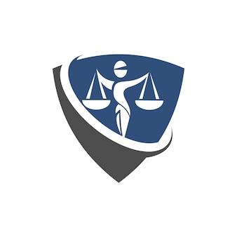 Logo dell'avvocato e della legge
