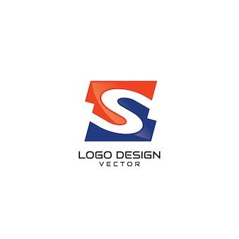 Logo dell'azienda s astratta