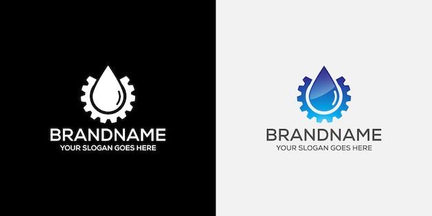 Logo dell'ingegnere dell'acqua