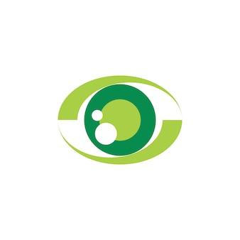 Logo dell'occhio verde