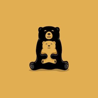 Logo dell'orso mamma
