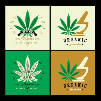 Logo della cannabis