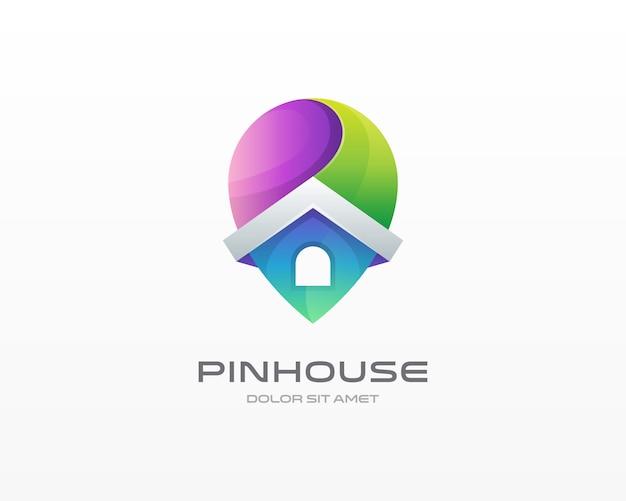 Logo della casa pin