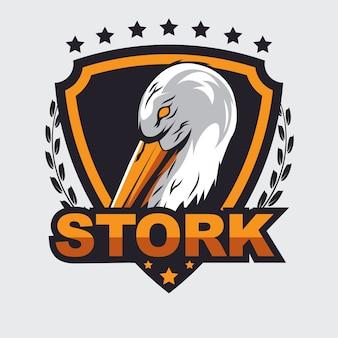 Logo della cicogna