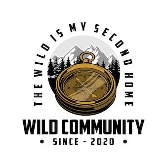 Logo della comunità selvaggia
