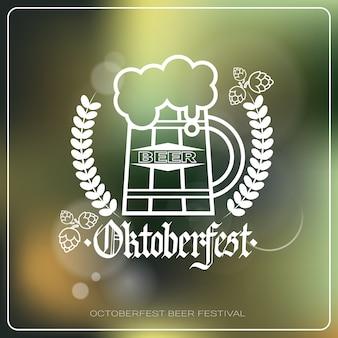 Logo della festa della birra dell'oktoberfest