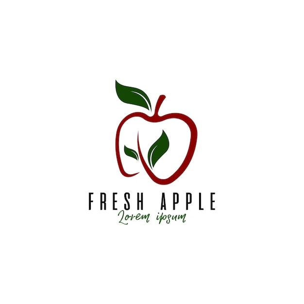 Logo della frutta mela