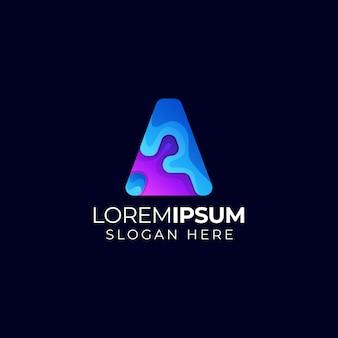 Logo della lettera a.