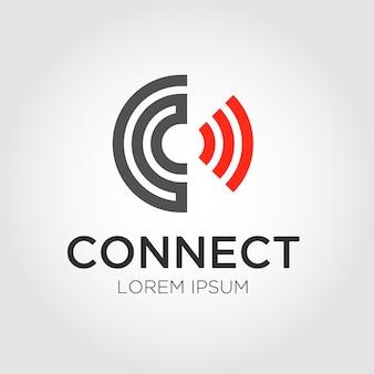 Logo della lettera c.