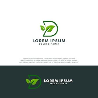 Logo della lettera d.