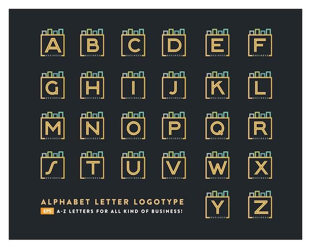 Logo della lettera dalla a alla z.