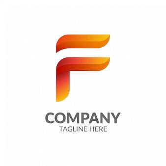 Logo della lettera f.