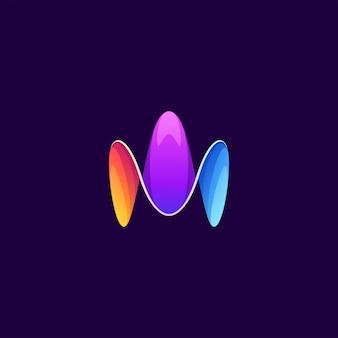 Logo della lettera m.