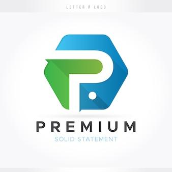 Logo della lettera p