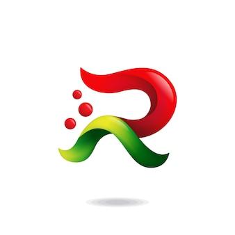 Logo della lettera r.